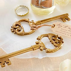 """Key to My Heart"" Antique Bottle Opener"