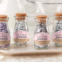 Personalized Milk Jar - Little Princess (Set of 12)