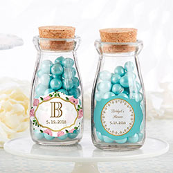 Personalized Milk Jar - Tea Time (Set of 12)