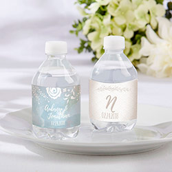 Personalized Water Bottle Labels - Ethereal